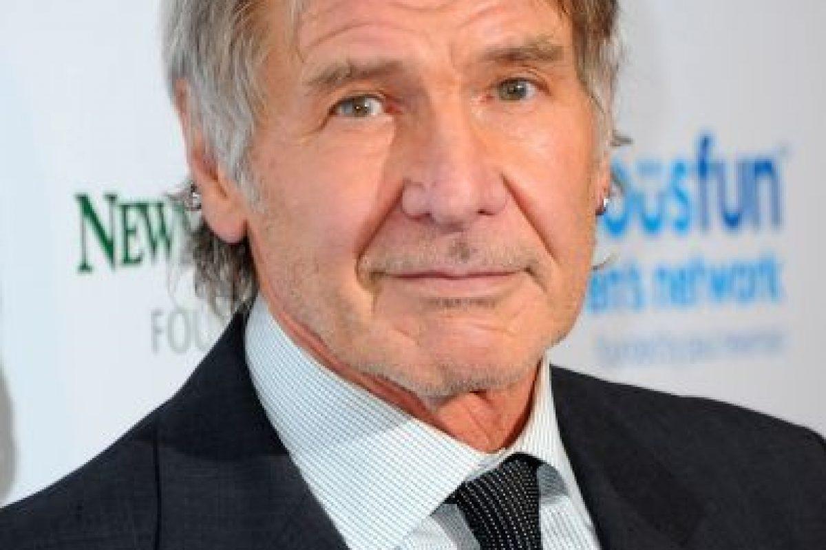 El irlandés Harrison Ford interpretará a Han Solo. Foto:Getty Images. Imagen Por: