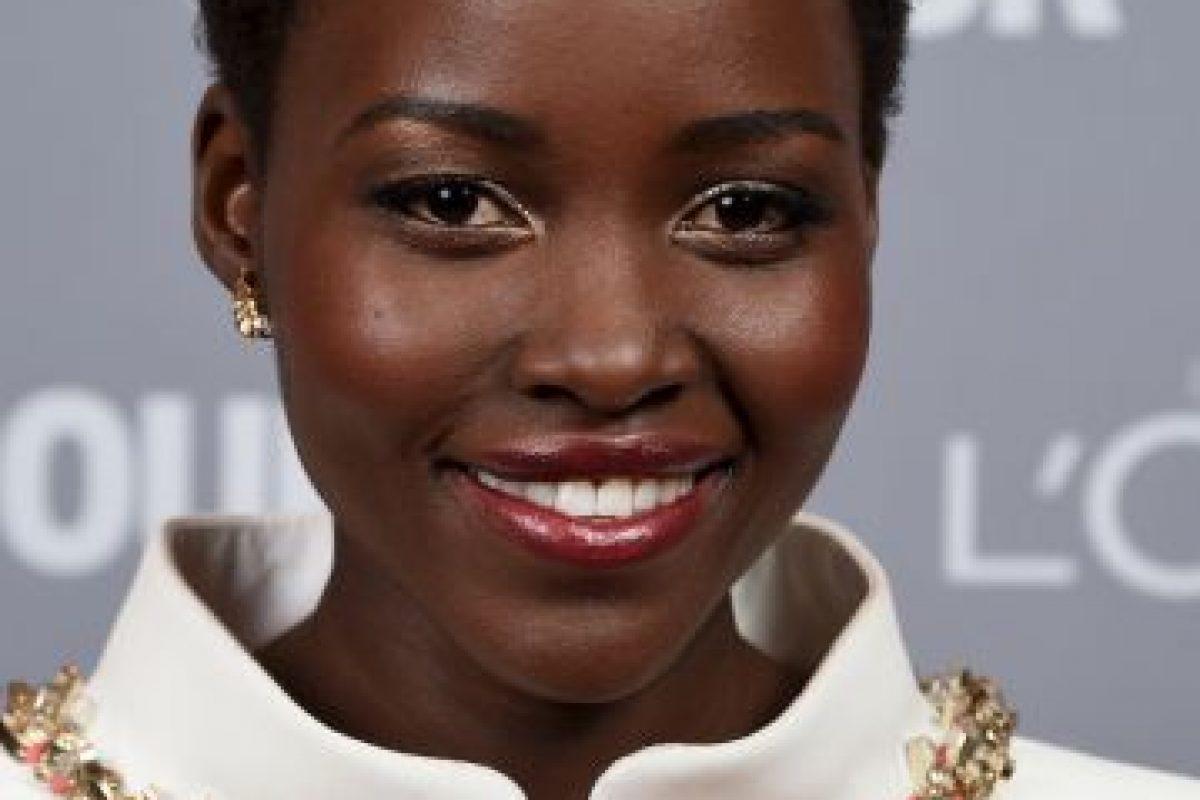 La nacida en México de padres kenianos Lupita Nyong'o. Foto:Getty Images. Imagen Por: