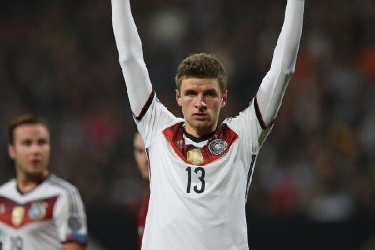 Fue el máximo goleador de Alemania en el Mundial, con cinco anotaciones Foto:Getty. Imagen Por: