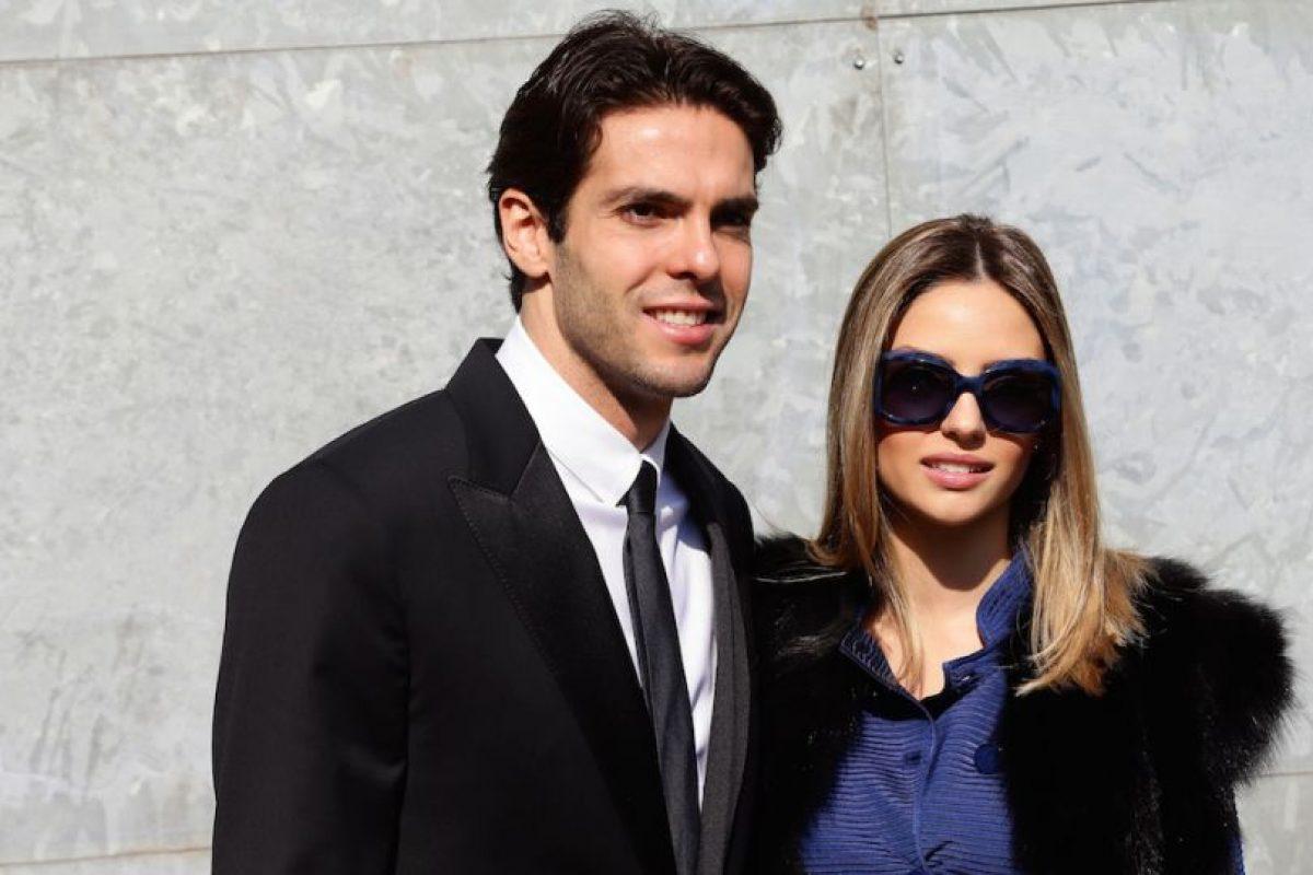 Kaká y Caroline Celico. Foto:Getty Images. Imagen Por: