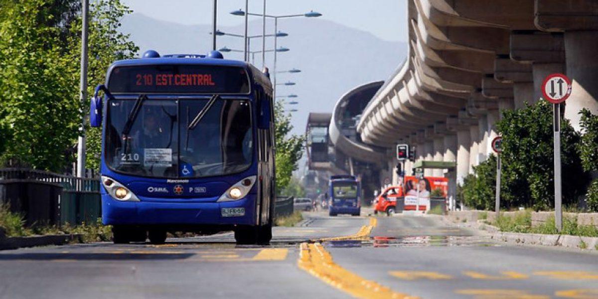 ¡Atentos! Transantiago presenta refuerzo de servicios para jornadas de Teletón