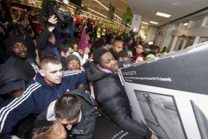 Esta imagen corresponde a una tienda en Wembley, Londres Foto:AP. Imagen Por:
