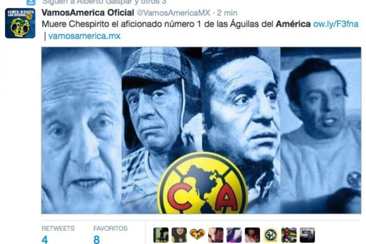 América, el club de sus amores Foto:Twitter. Imagen Por: