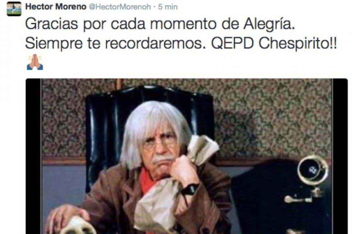 Héctor Moreno, defensa mexicano Foto:Twitter. Imagen Por: