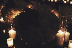 Kendall compartió esta imagen con las velas encendidas. Foto:Instagram. Imagen Por:
