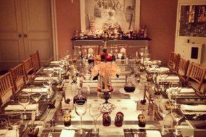 La socialité compartió su elegante mesa del día de Acción de Gracias Foto:Instagram. Imagen Por: