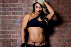 Fue campeona en el primer semestre de 2013 Foto:WWE. Imagen Por: