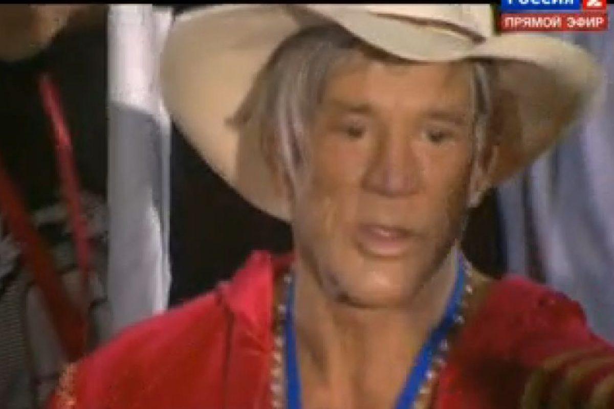 Lució feliz por volver a pelear, después de 20 años Foto:Captura de pantalla. Imagen Por: