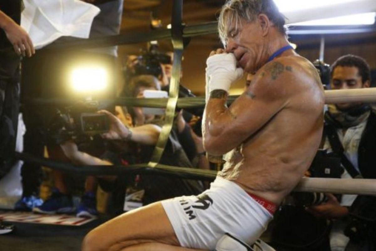 Lució feliz por volver a pelear, después de 20 años Foto:Getty. Imagen Por: