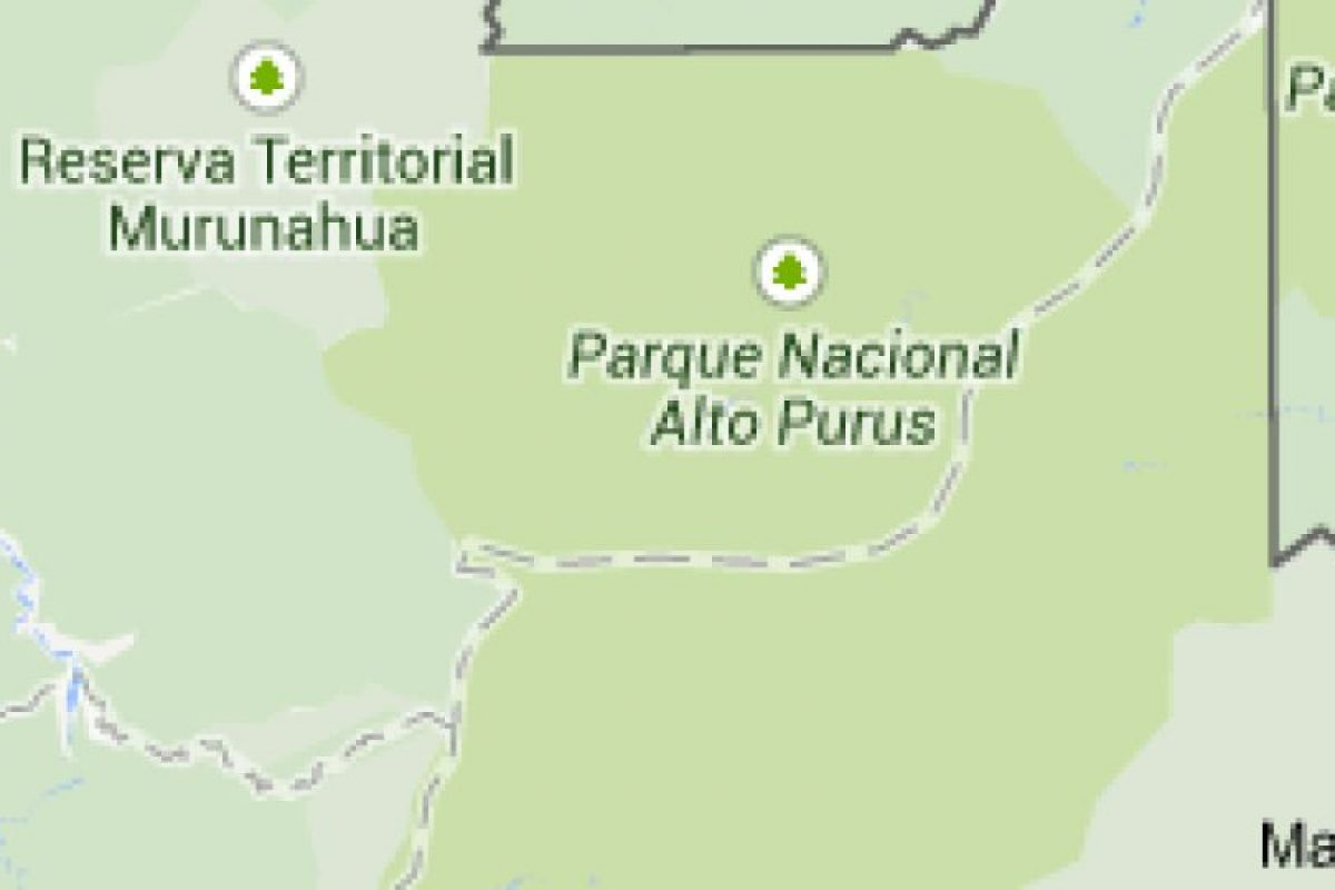 Alerta: Pueblo ubicado en el distrito de Purús en Perú. Foto:Google Maps. Imagen Por: