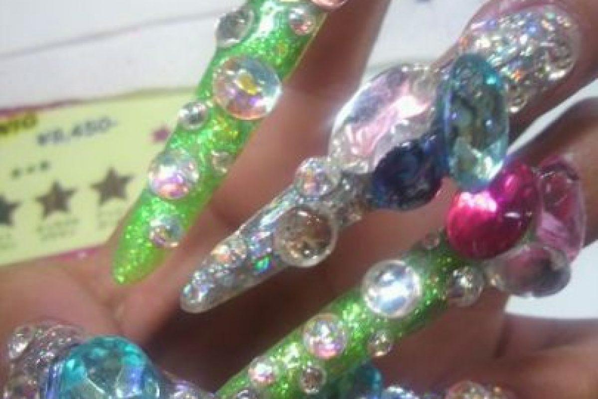 Uñas hechas para acariciar. Foto:Poorly Dressed. Imagen Por: