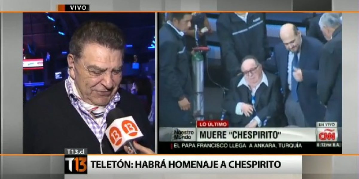 Confirmado: Habrá homenaje a #Chespirito en la Teletón 2014
