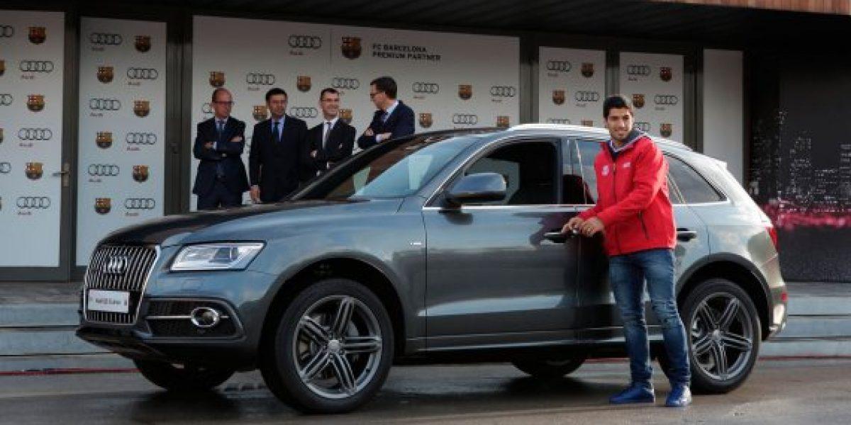 Los nuevos autos de los jugadores del Barcelona