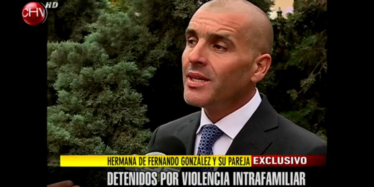 Hermana de Fernando González detenida por violencia intrafamiliar