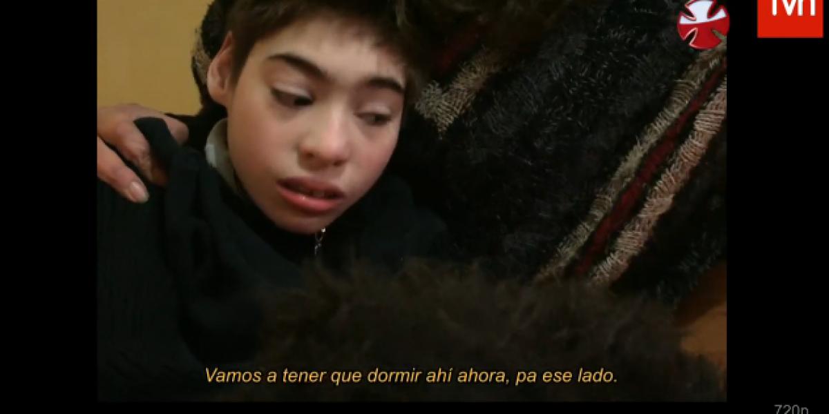 Con la historia de un niño que vivió el incendio de Valparaíso se dio inicio a la Teletón 2014