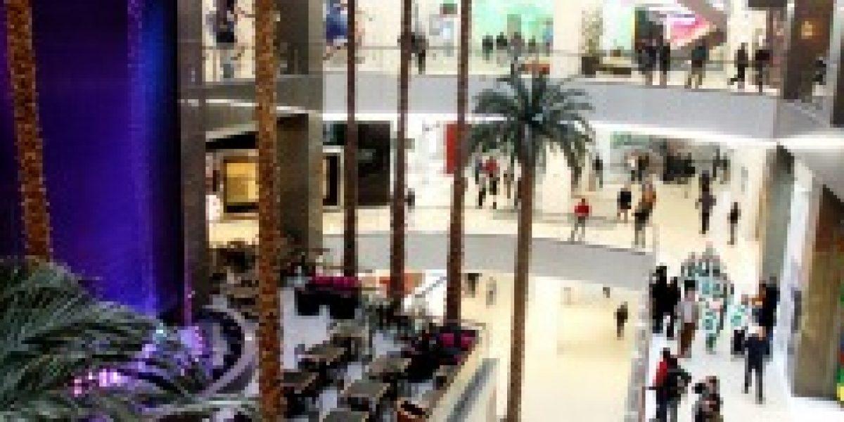 Estos son los malls con mayor flujo de gente al mes
