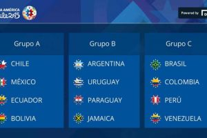 Así quedaron los grupos de la competencia Foto:Copa América. Imagen Por: