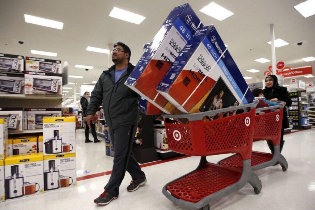 Los televisores fueron de los artículos más solicitados en Estados Unidos Foto:AP. Imagen Por: