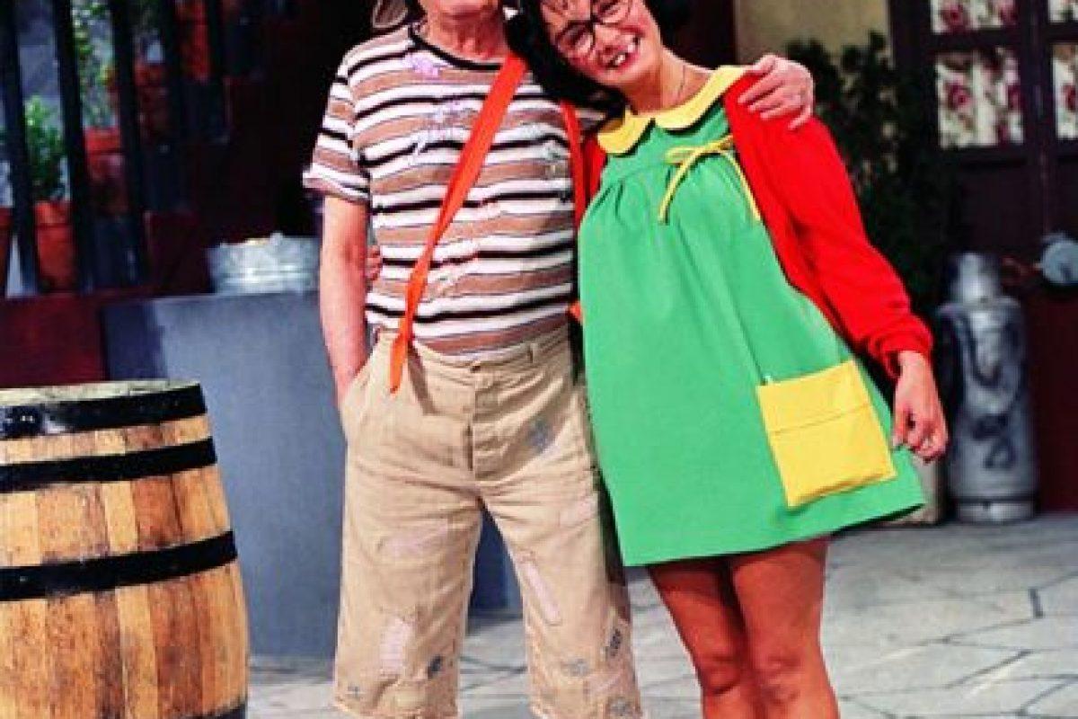 Tuvo problemas legales con Bolaños por su personaje, al que siguió interpretando Foto:Televisa. Imagen Por: