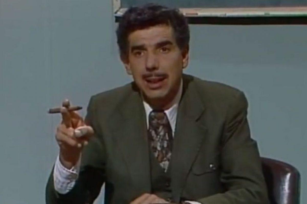 """Ruben Aguirre era """"El Profesor Jirafales"""" Foto:Televisa. Imagen Por:"""