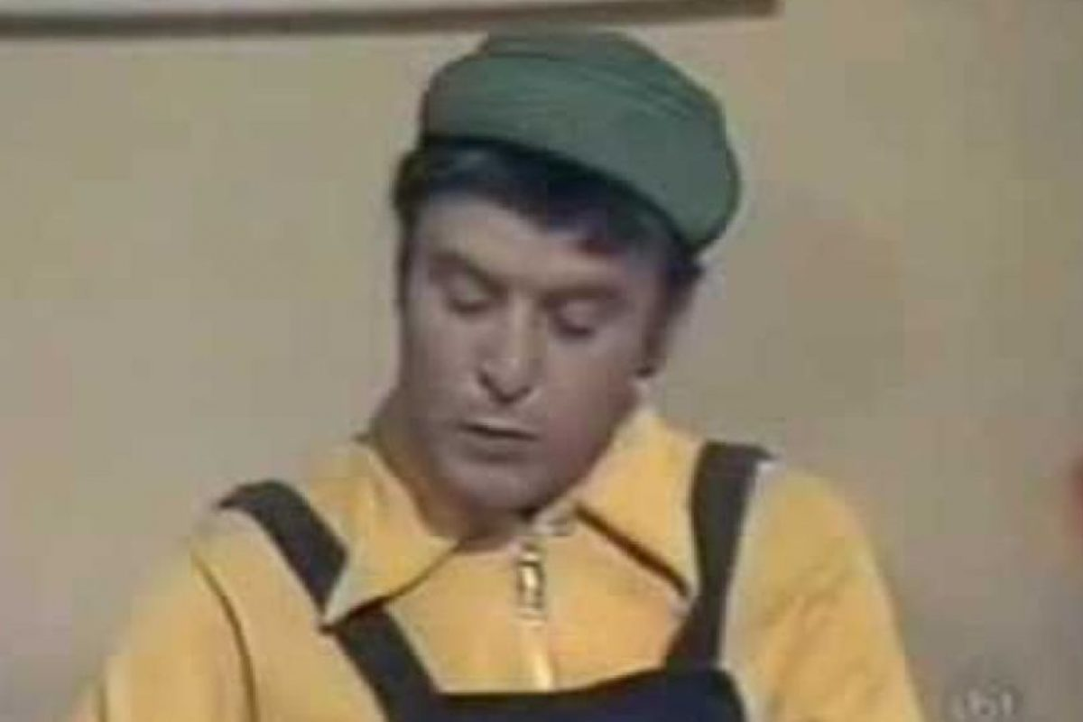 """Horacio Gómez Bolaños era el despistado """"Godínez"""" Foto:Televisa. Imagen Por:"""