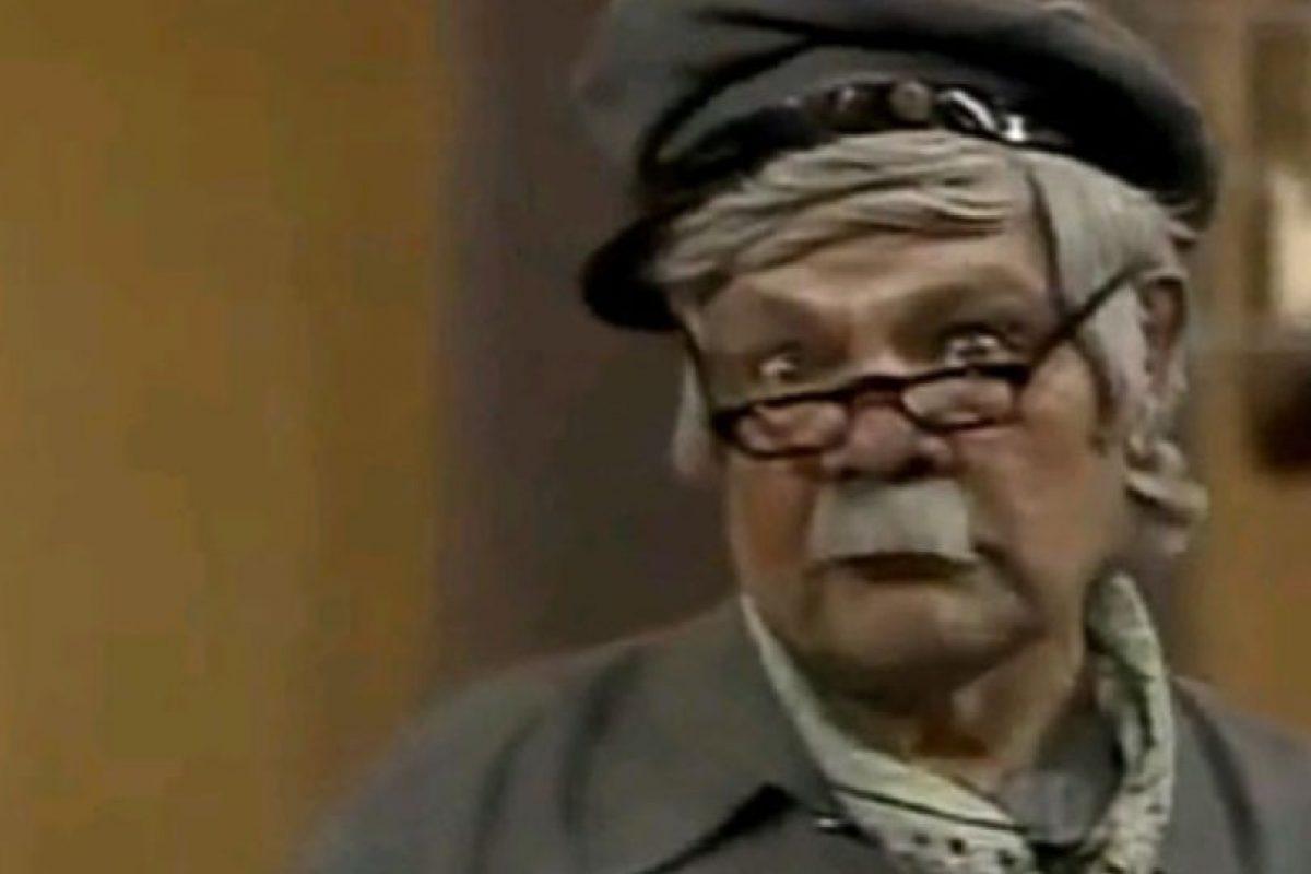 """Raúl Padilla era """"Jaimito, el cartero"""" Foto:Televisa. Imagen Por:"""