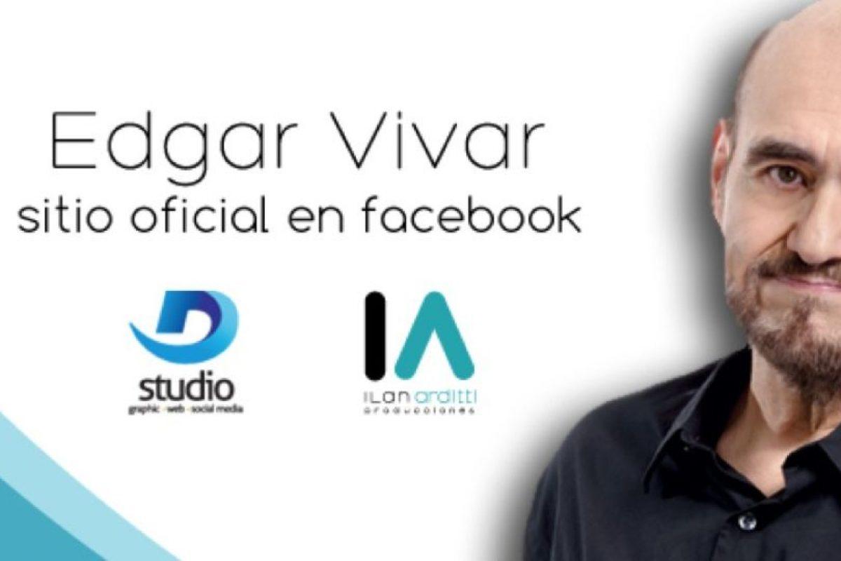 """Ha estado actuando con personas como Salma Hayek. También ha actuado en series como """"Tiempo Final"""" Foto:Édgar Vivar /Facebook. Imagen Por:"""