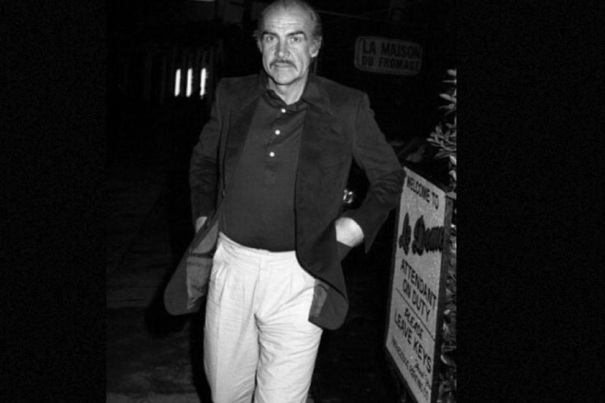 """Sean Connery: En varias ocasiones ha defendido el uso de fuerza bruta contra las mujeres: """"cuando todos los otros métodos no funcionan"""", dijo en entrevista con Barbara Walters. Foto:Getty Images. Imagen Por:"""