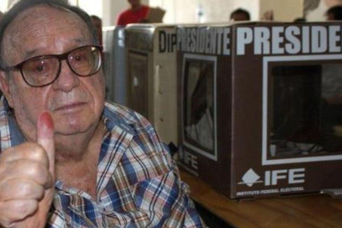 Fue protagonista de varias polémicas políticas Foto:Roberto Gómez Bolaños/Comunidad/Facebook. Imagen Por:
