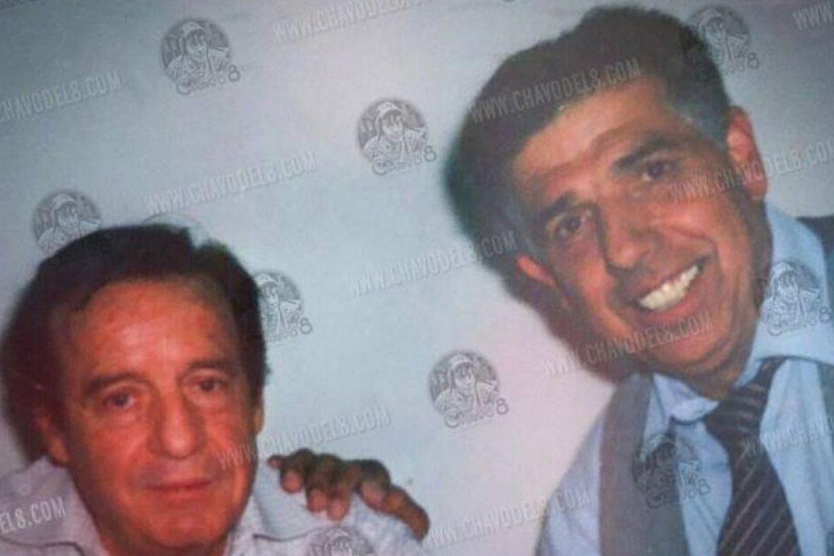 """En los años 60 comenzó con """"Cómicos y Canciones"""". Hasta que en 1968 comenzó con su carrera como actor en """"Los Supergenios de la Mesa Cuadrada"""", al lado de Rubén Aguirre Foto:El Chavo del 8/Facebook. Imagen Por:"""