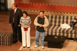 """Con ella presentó obras teatrales en los años 90. Su obra se llamó """"11 y 12"""" Foto:Roberto Gómez Bolaños/Facebook. Imagen Por:"""