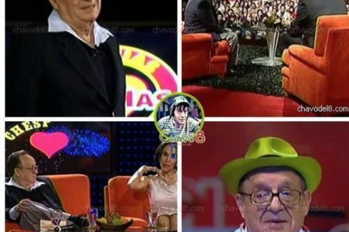 Fans conocedores de su obra tuvieron la oportunidad de verlo en persona. Hubo una trivia para ellos. Foto:Televisa. Imagen Por: