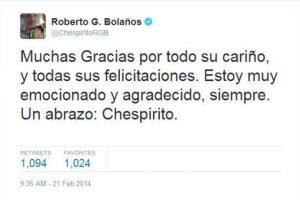 Seguía comunicándose con sus fans en Twitter Foto:Twitter. Imagen Por: