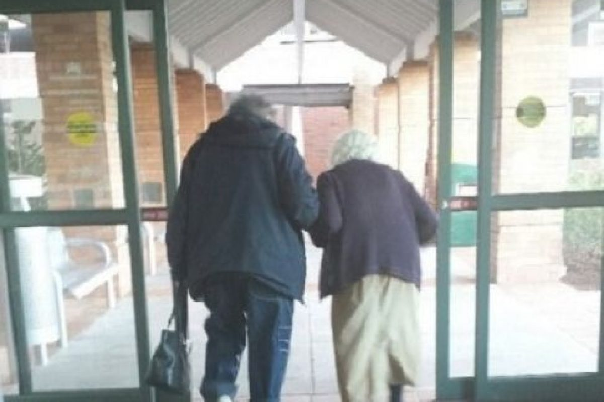 ¡A todos lados, pero juntos! Foto:Tumblr.com/Tagged/amor-abuelos. Imagen Por: