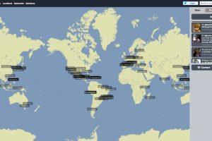 Este es el impacto que ha tenido la muerte de #Chespirito en las redes sociales del mundo Foto:Trendsmap.com. Imagen Por: