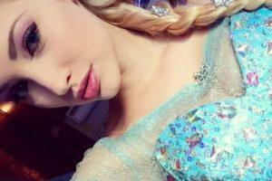 Anna Faith soñaba con ser una actriz y cantante que pudiera trabajar con niños y ahora es la imitadora de Elsa Foto:Instagram/Anna Faith. Imagen Por: