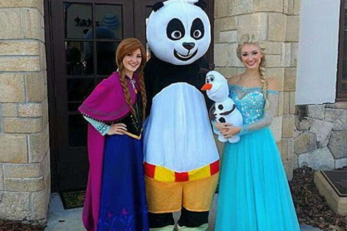 "Anna y Lexie Faith viven como las protagonistas de ""Frozen"" Foto:Instagram/Lexiegracelove. Imagen Por:"