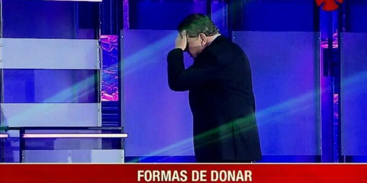 El gesto que impactó de Don Francisco en la #Teletón2014