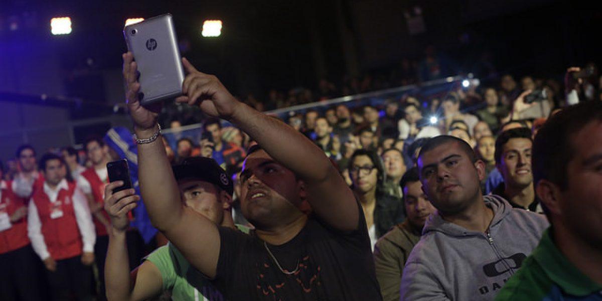 (FOTOS) Vedetón: Hasta con binoculares llegó el público masculino