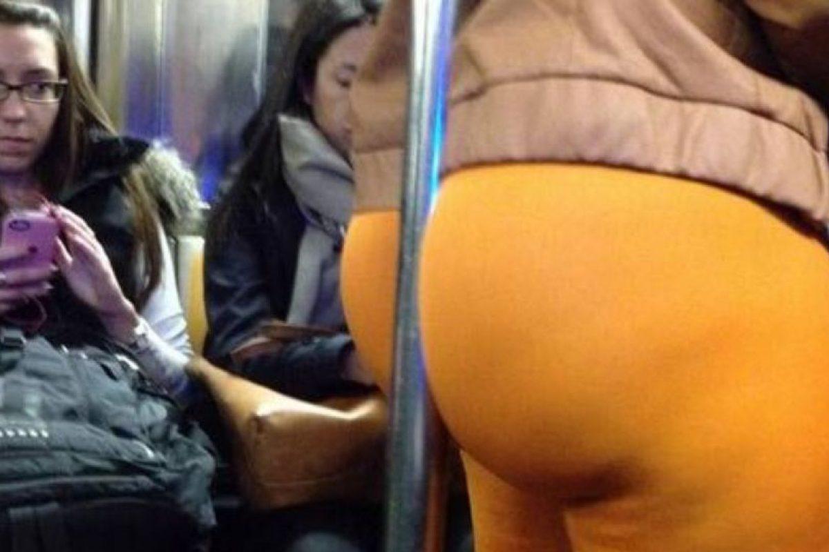 Esto puede pasar en el bus Foto:Pinterest/Fashion Fail. Imagen Por: