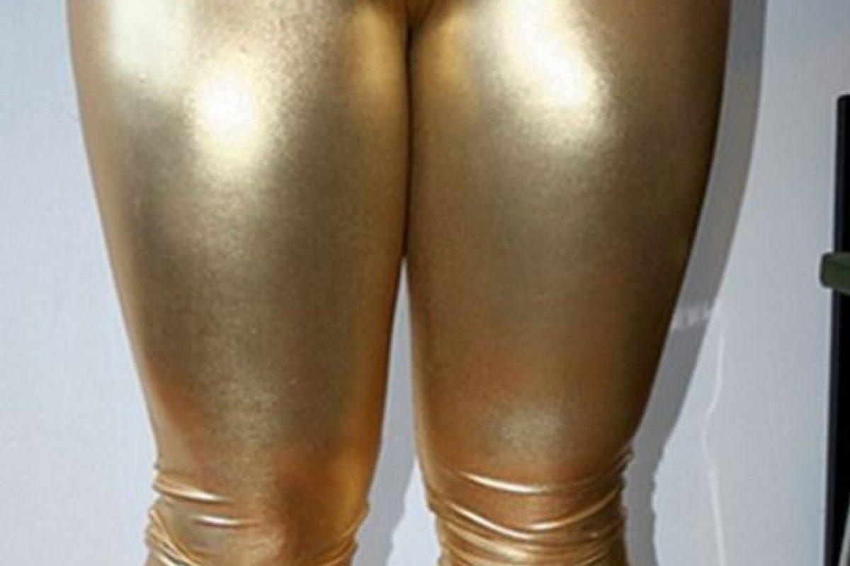 Pata de camello más dorado. Con clase. Foto:Pinterest/Fashion Fail. Imagen Por: