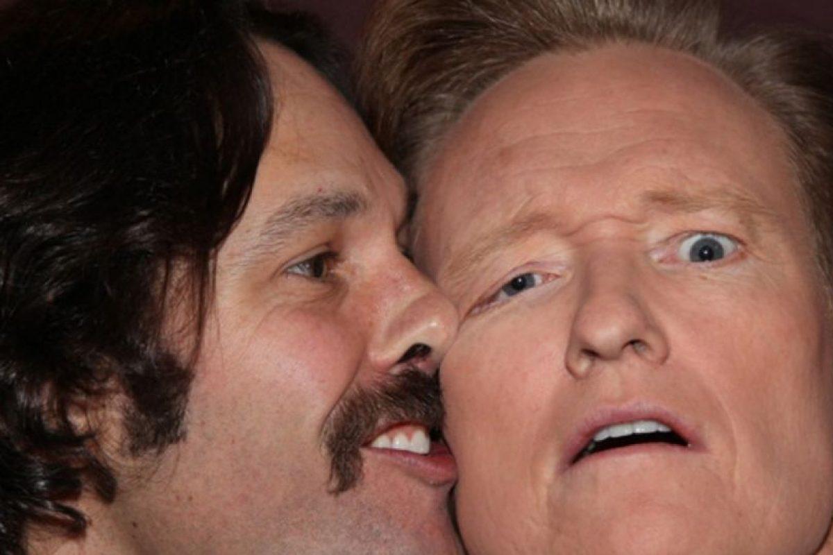 Paul Rudd y Conan O' Brien Foto:Instagram. Imagen Por: