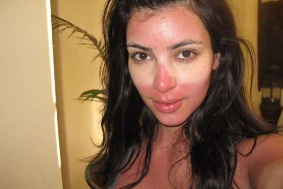 ¿Qué te pasó, Kim? Foto:Instagram. Imagen Por: