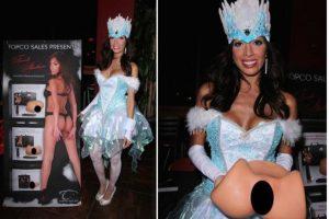 Farrah Abraham se vistió así para Halloween. Foto:Twitter. Imagen Por: