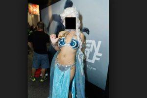Elsa esclava de Jabba the Hutt Foto:Imgur. Imagen Por: