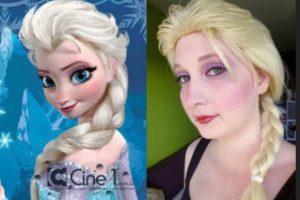 Debió usar un tutorial de maquillaje. Foto:Imgur. Imagen Por: