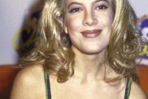 """Tori Spelling lucía así para la época de """"Beverly Hills"""" Foto:Getty Images. Imagen Por:"""