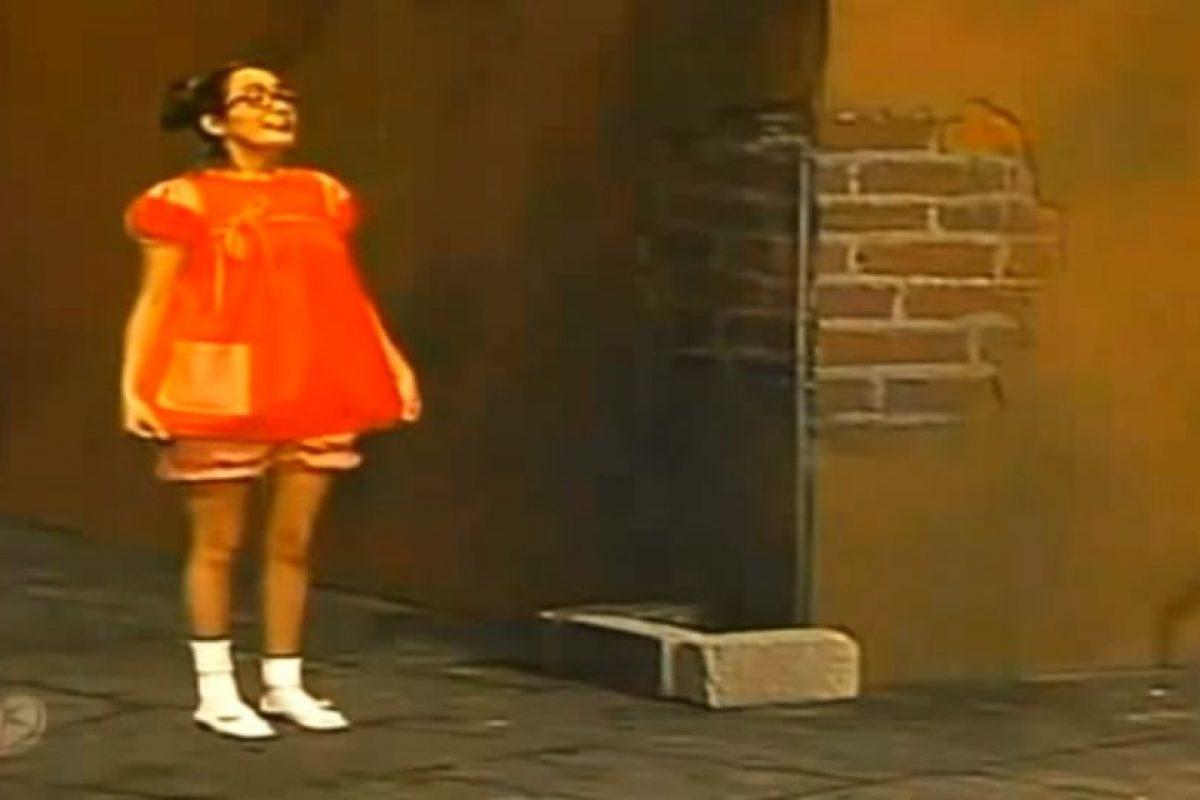 Don Ramón le estaba tomando una foto a su hija. Foto:Televisa/Youtube. Imagen Por:
