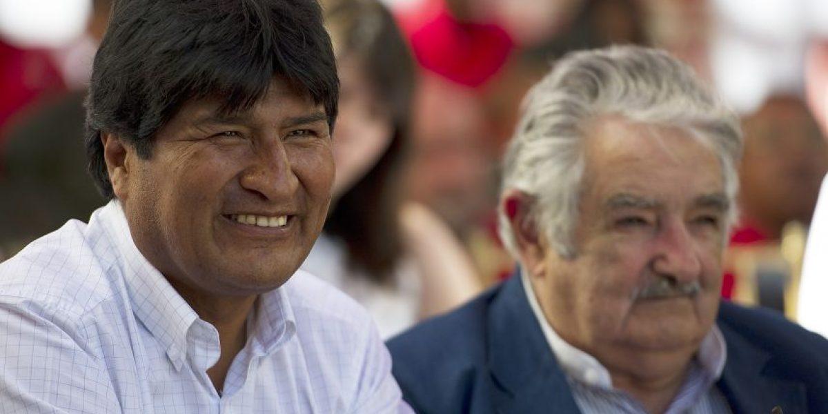 Morales agradece apoyo de Mujica a reclamo marítimo boliviano