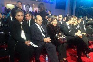 Édgar Vivar (El señor barriga) también destacó entre los invitados. Foto:Facebook/Televisatelevisionmx. Imagen Por: